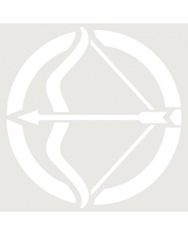 Stencil Aerografia Tattoo Zodiaco 009