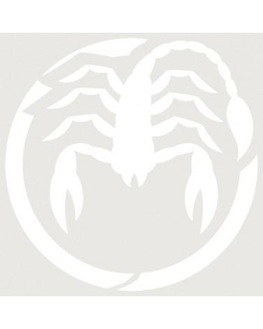 Stencil Aerografia Tattoo Zodiaco 008