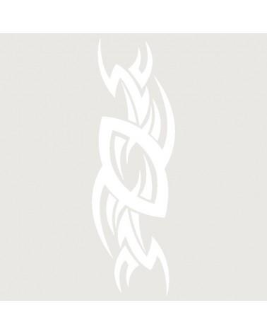 Stencil Aerografia Tattoo Tribal 018