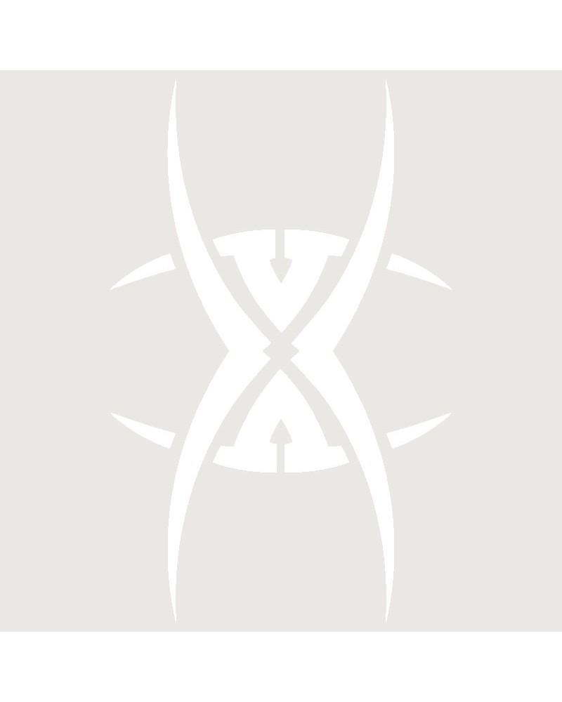 Stencil Aerografia Tattoo Tribal 017