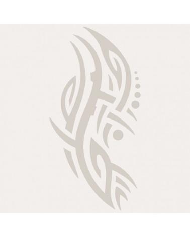 Stencil Aerografia Tattoo Tribal 002