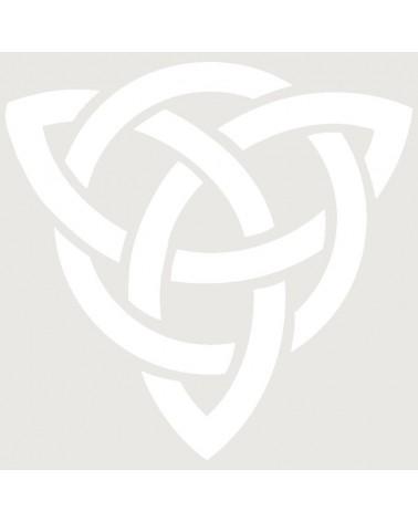 Stencil Aerografia Tattoo Tribal 001