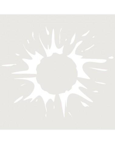Stencil Aerografia Tattoo Simbolo 022