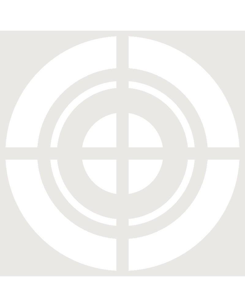 Stencil Aerografia Tattoo Simbolo 012