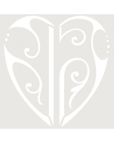 Stencil Aerografia Tattoo Romantico 009