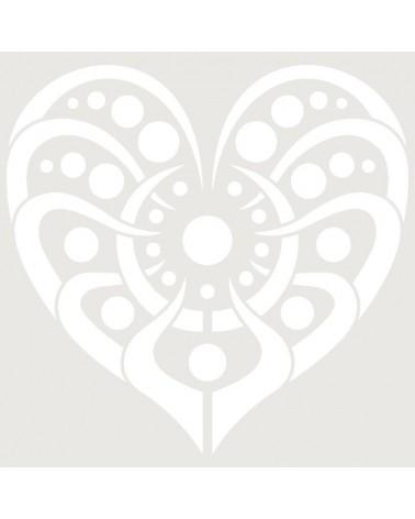 Stencil Aerografia Tattoo Romantico 007