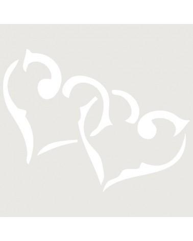 Stencil Aerografia Tattoo Romantico 005