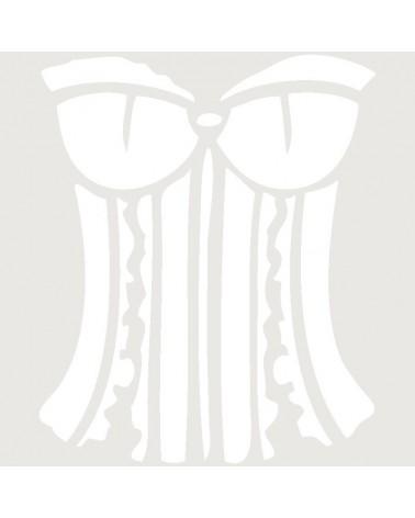 Stencil Aerografia Tattoo Romantico 004