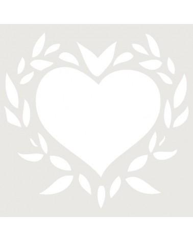 Stencil Aerografia Tattoo Romantico 003