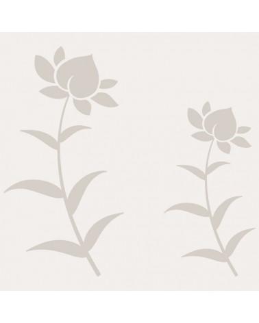 Stencil Aerografia Tattoo Floral 025