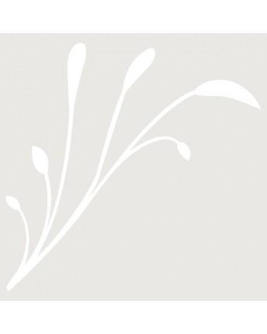 Stencil Aerografia Tattoo Floral 005