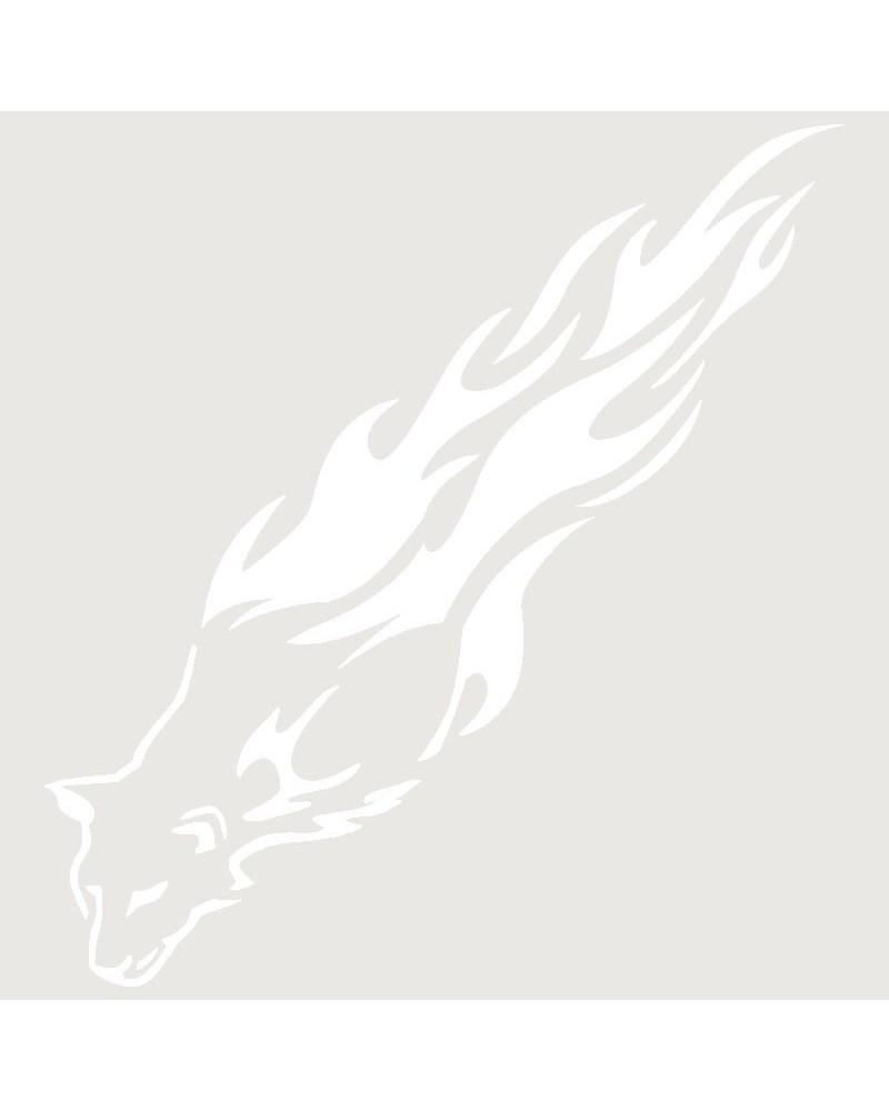 Stencil Aerografia Tattoo Llama 008