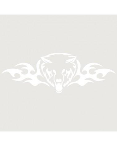 Stencil Aerografia Tattoo Llama 007