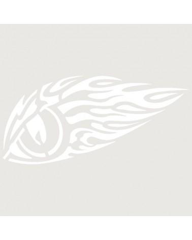 Stencil Aerografia Tattoo Llama 006