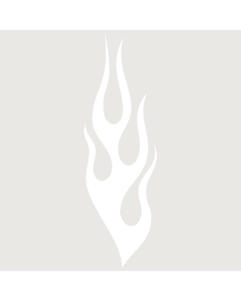 Stencil Aerografia Tattoo Llama 003