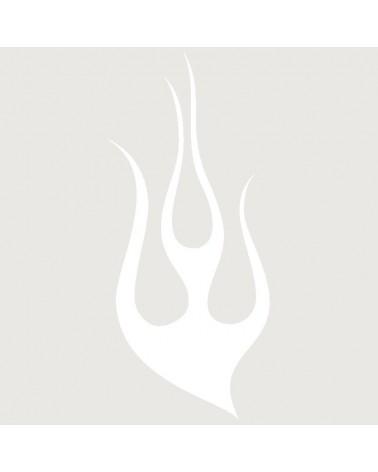 Stencil Aerografia Tattoo Llama 002