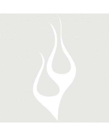 Stencil Aerografia Tattoo Llama 001