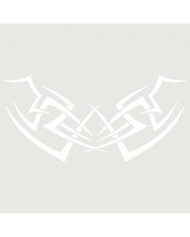 Stencil Aerografia Tattoo Espalda 008