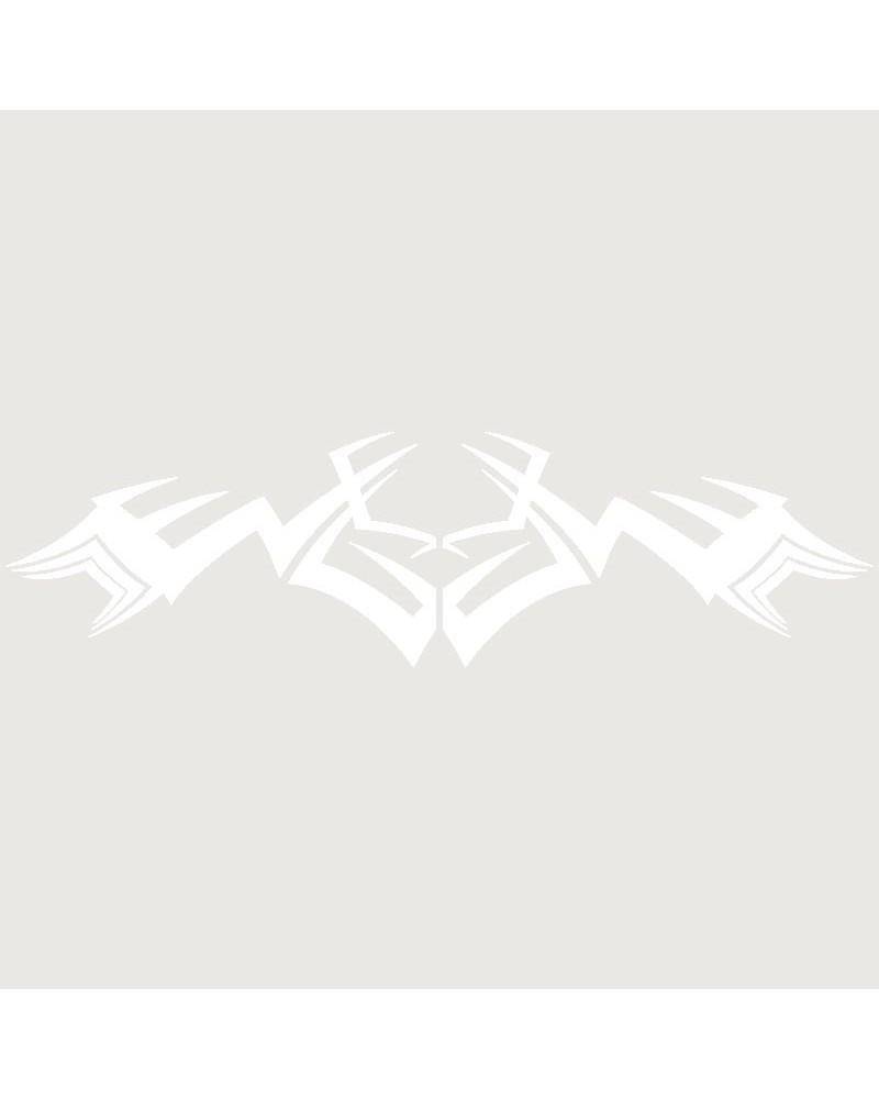 Stencil Aerografia Tattoo Espalda 007