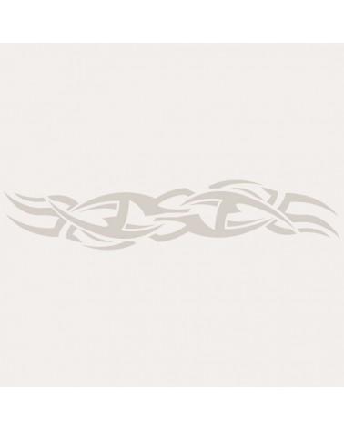 Stencil Aerografia Tattoo Espalda 006
