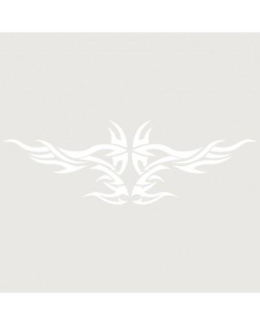 Stencil Aerografia Tattoo Espalda 005