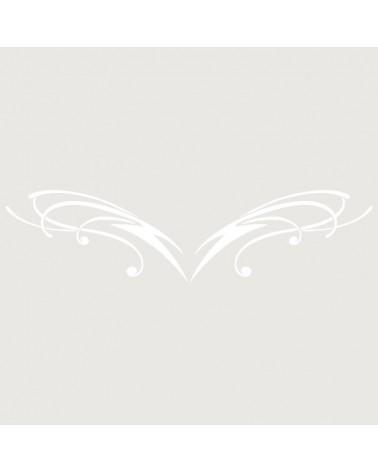 Stencil Aerografia Tattoo Espalda 003
