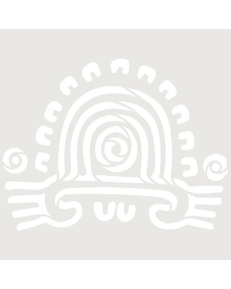 Stencil Aerografia Tattoo Mayas 008