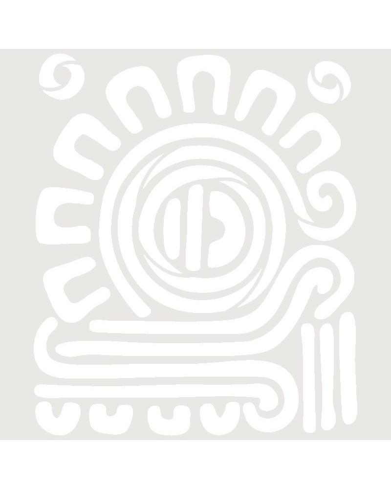 Stencil Aerografia Tattoo Mayas 006