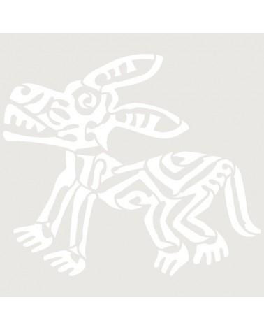 Stencil Aerografia Tattoo Mayas 004