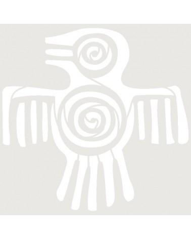 Stencil Aerografia Tattoo Mayas 002