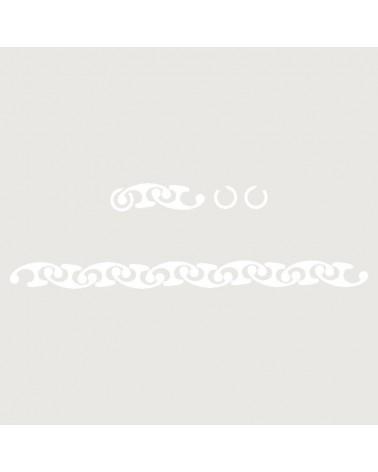 Stencil Aerografia Tattoo Brazalete 012