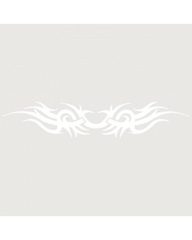 Stencil Aerografia Tattoo Brazalete 009