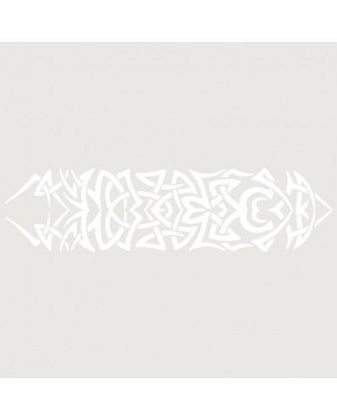 Stencil Aerografia Tattoo Brazalete 007