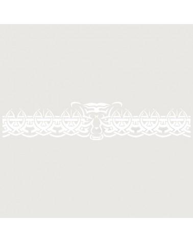 Stencil Aerografia Tattoo Brazalete 002