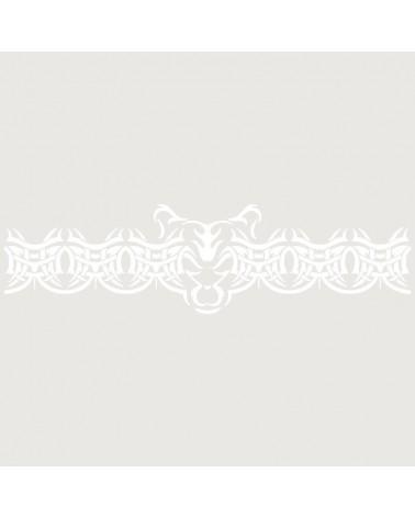 Stencil Aerografia Tattoo Brazalete 001
