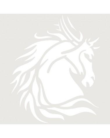 Stencil Aerografia Tattoo Animal 067