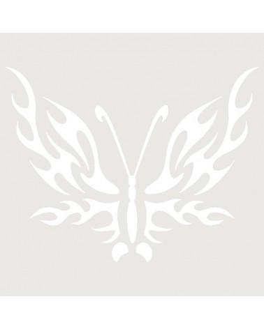 Stencil Aerografia Tattoo Animal 048