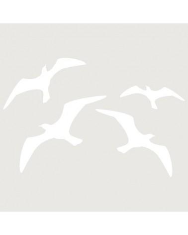 Stencil Aerografia Tattoo Animal 025