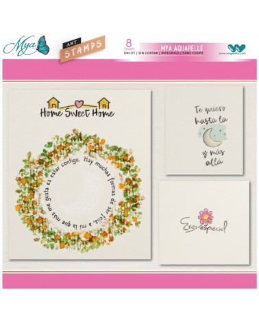Aquarelle Markers and Friendship Stamp Set