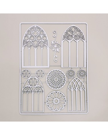 Chipboard Silhouettes set 027 Gothic Architecture