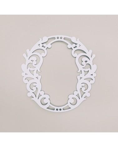 Letra Cartón 001 Floral O