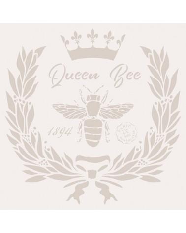 Stencil Deco Composición 245 Queen Bee