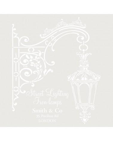 Stencil MYA Composition 247 Street Lighting