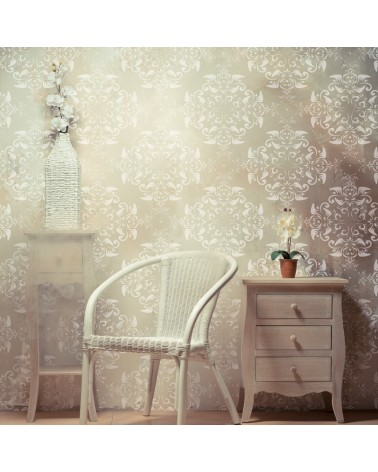Stencil MYA Home Decor Damask 001