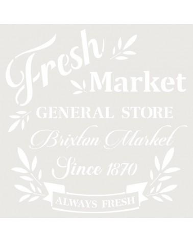 Stencil Deco Vintage Composición 249 Fresh Market