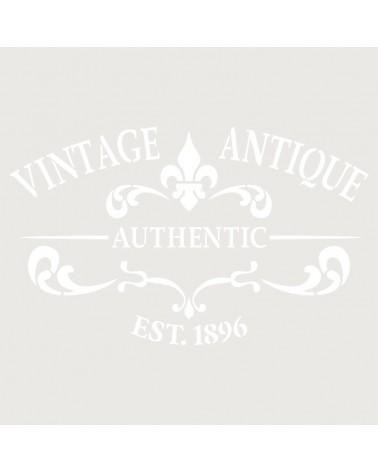 Stencil Deco Vintage Composición 252 Vintage Antique