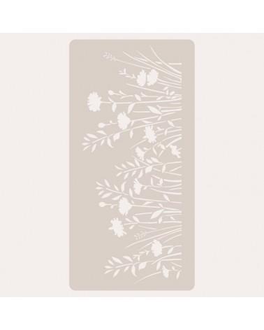 Stencil Deco Scrapbooking 113 Flores