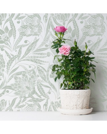 Stencil Home Decor Floral 007