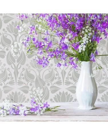 Stencil MYA Home Decor Flowers 008
