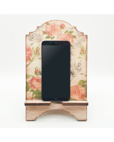 3D Wood 033 Mobile Stand